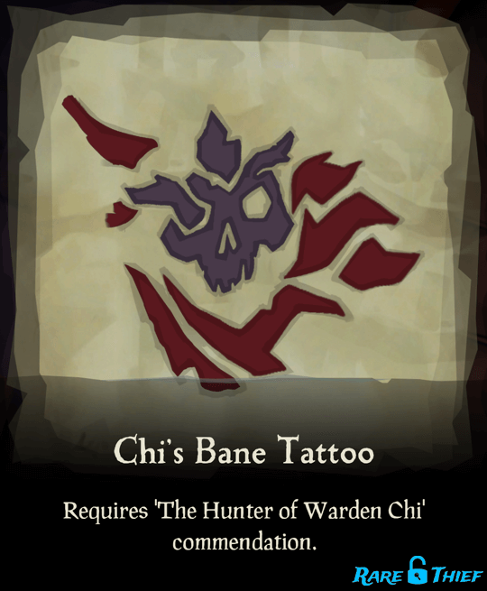 Chi's Bane Tattoo