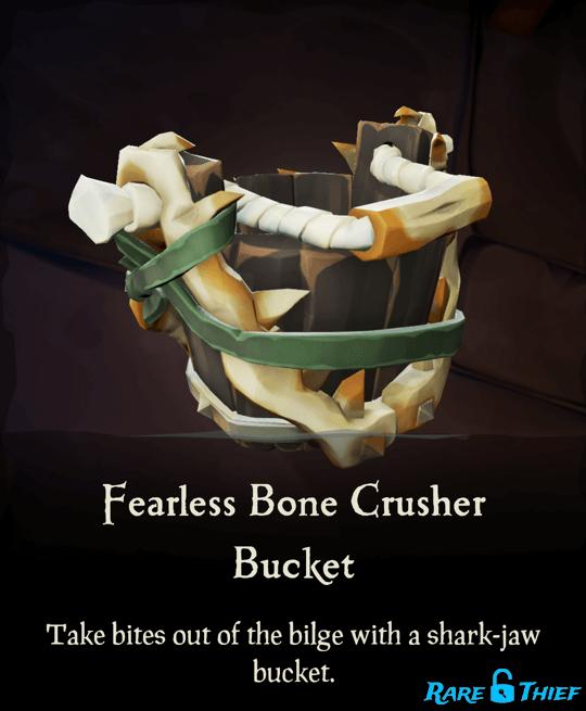 Fearless Bone Crusher Bucket
