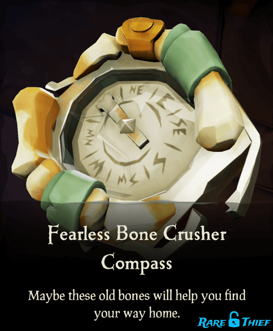 Fearless Bone Crusher Compass