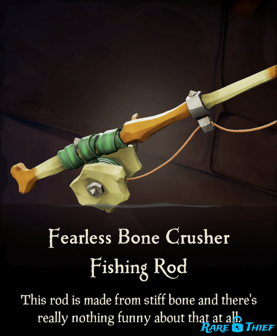 Fearless Bone Crusher Fishing Rod