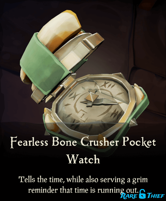 Fearless Bone Crusher Pocket Watch