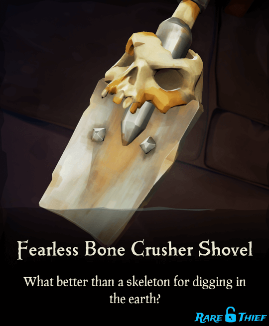Fearless Bone Crusher Shovel