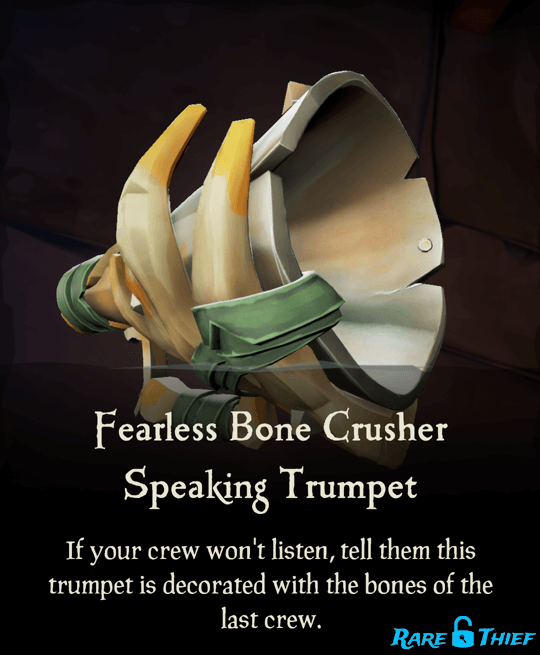 Fearless Bone Crusher Speaking Trumpet
