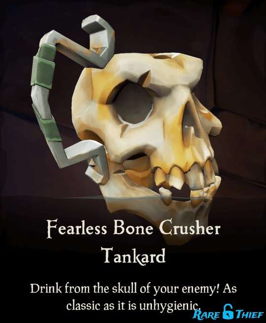 Fearless Bone Crusher Tankard
