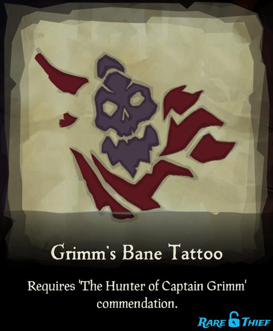 Grimm's Bane Tattoo