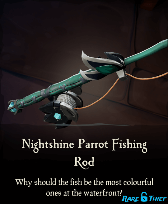 Nightshine Parrot Fishing Rod