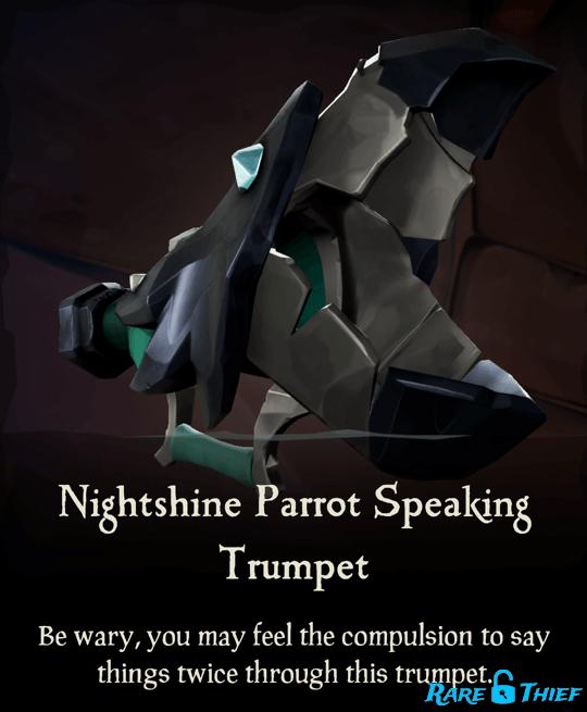 Nightshine Parrot Speaking Trumpet