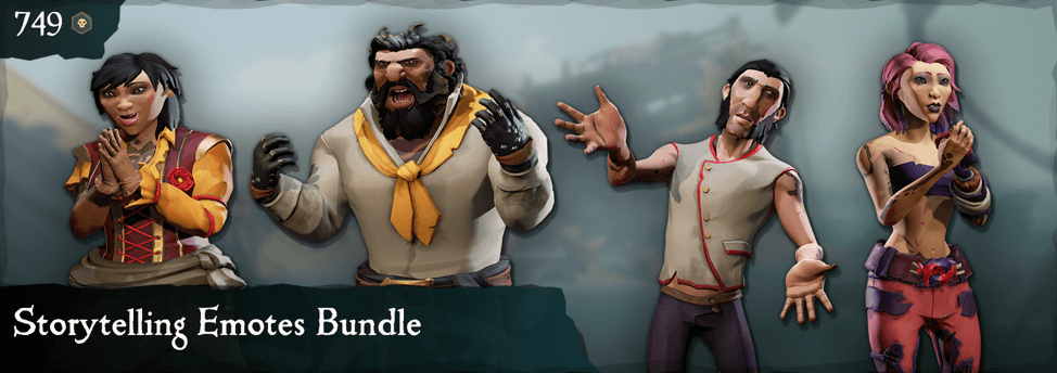 Storytelling Emotes Bundle