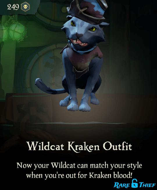 Wildcat Kraken Outfit