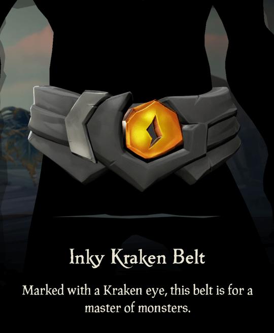 Inky Kraken Belt