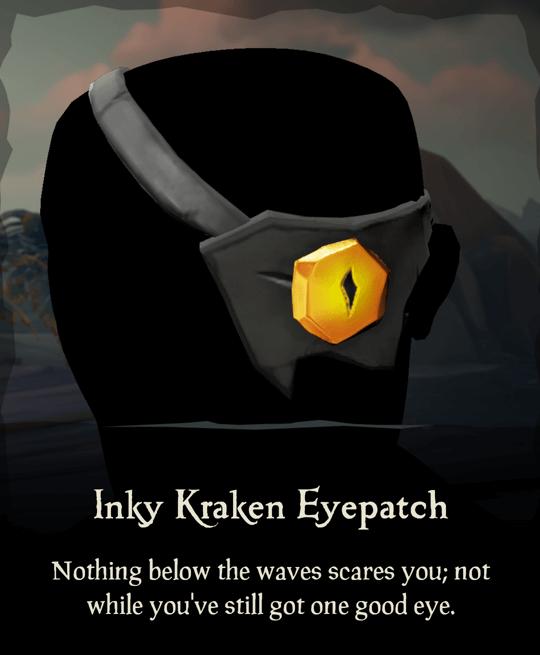 Inky Kraken Eyepatch