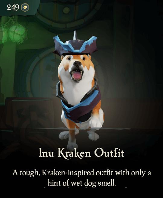 Inu Kraken Outfit