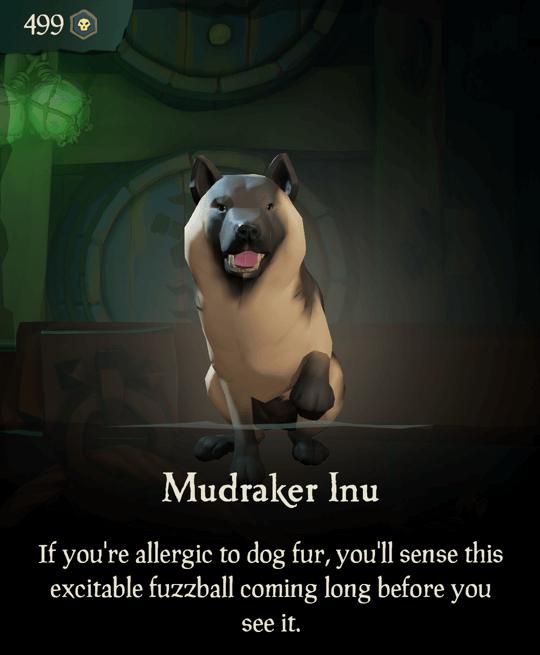 Mudraker Inu