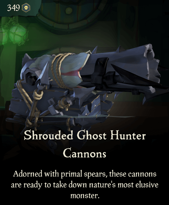 Shrouded Ghost Hunter Cannons