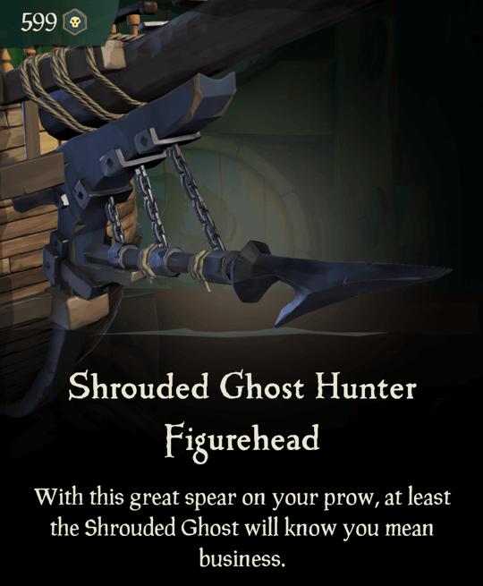 Shrouded Ghost Hunter Figurehead
