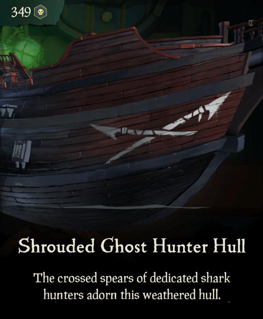 Shrouded Ghost Hunter Hull
