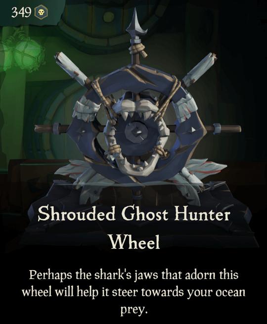 Shrouded Ghost Hunter Wheel