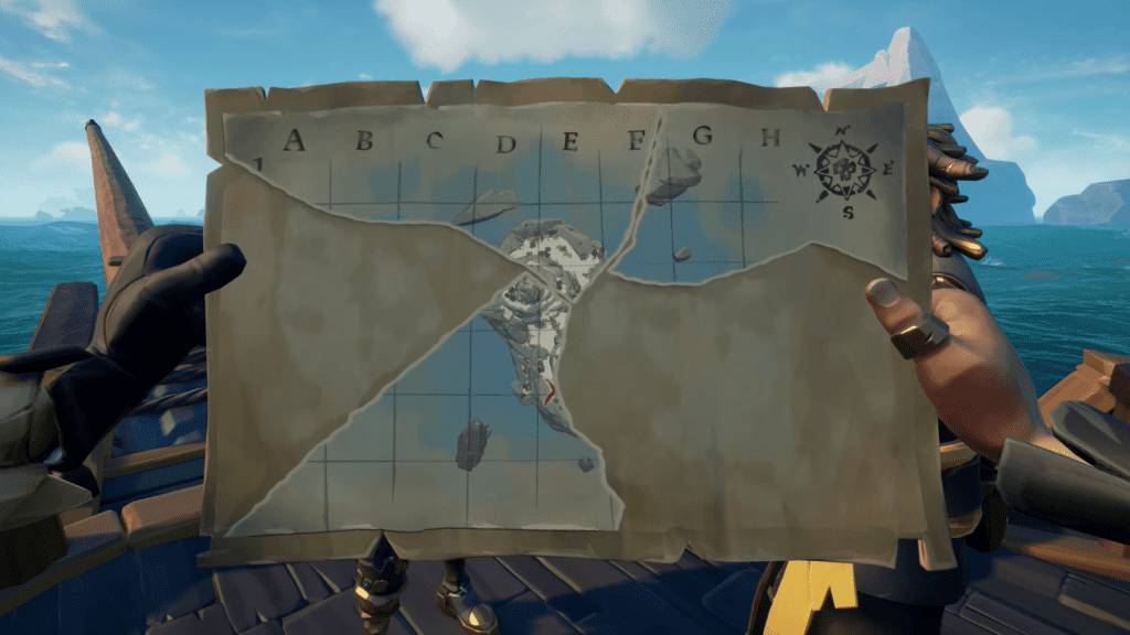 Treasure Vault Key Map