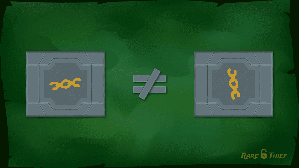 Treasure Vault Puzzle Orientation