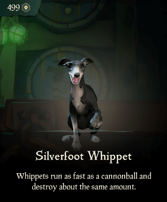 Silverfoot Whippet