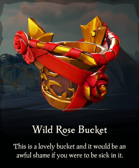 Wild Rose Bucket