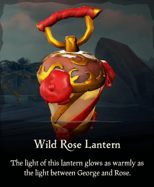 Wild Rose Lantern