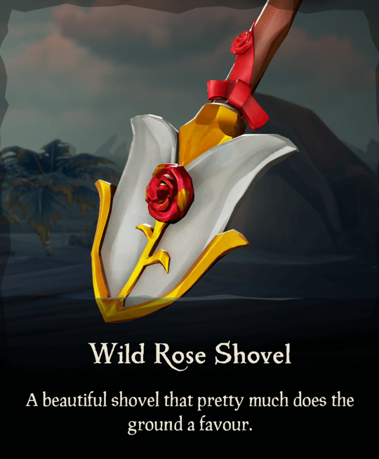 Wild Rose Shovel