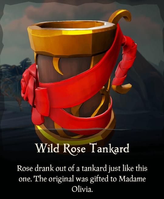 Wild Rose Tankard