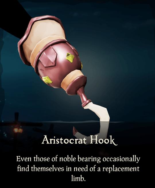 Aristocrat Hook