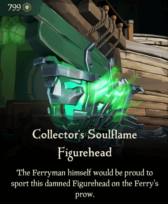 Collector's Soulflame Figurehead