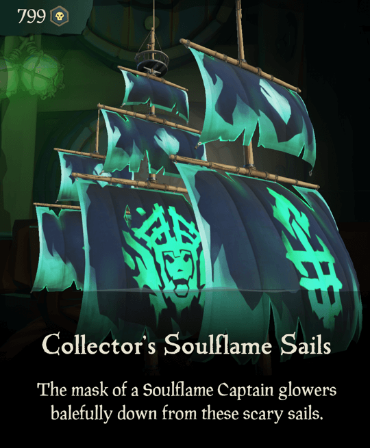 Collector's Soulflame Sails