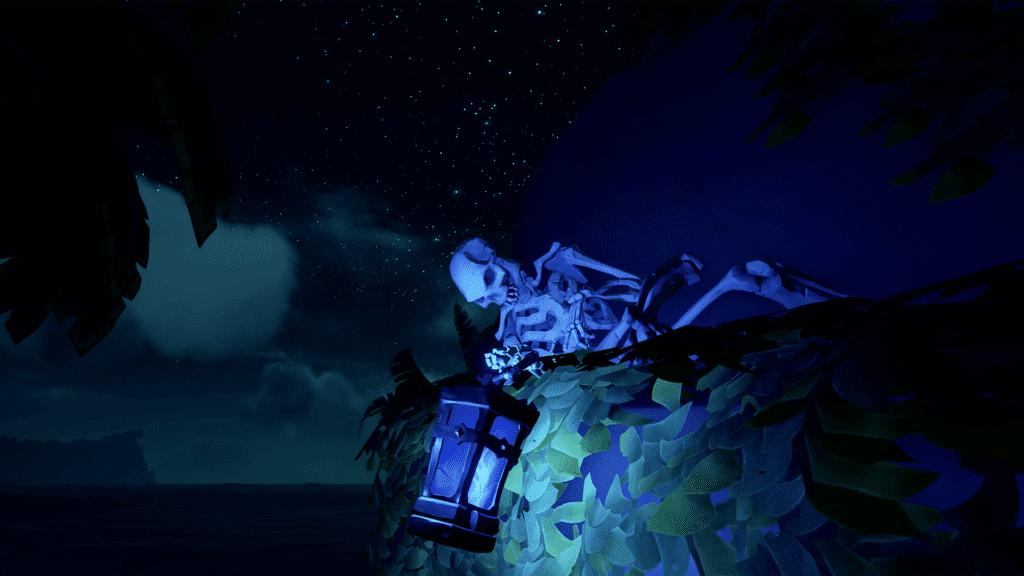 Bilge Rat Lantern At Night