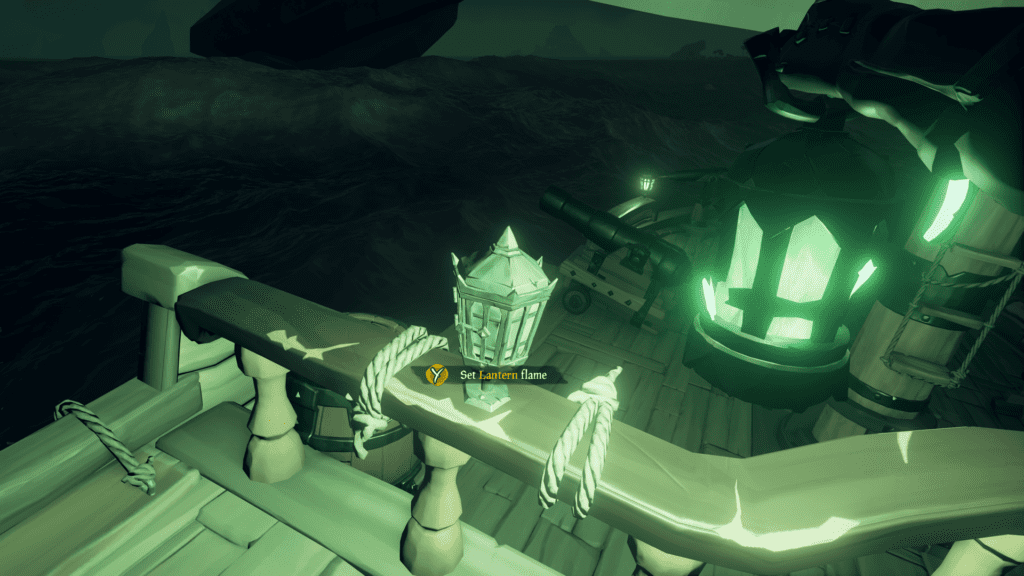 Set Lantern flame