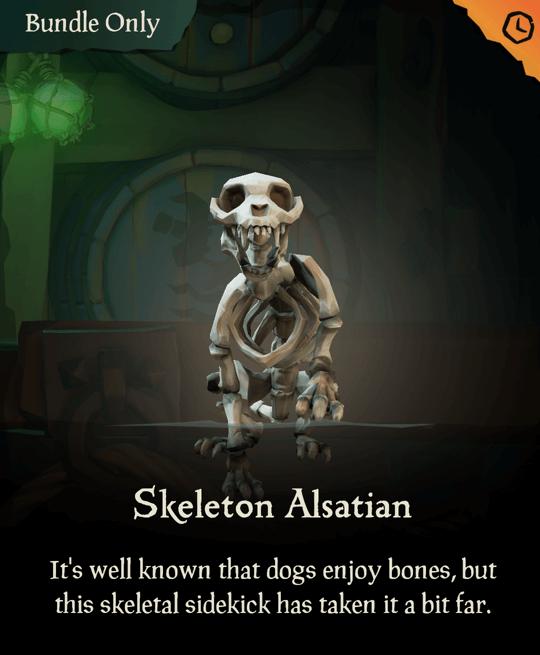 Skeleton Alsatian