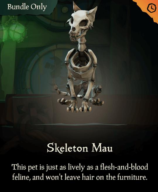 Skeleton Mau
