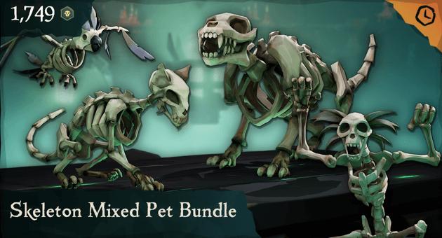 Skeleton Mixed Pet Bundle