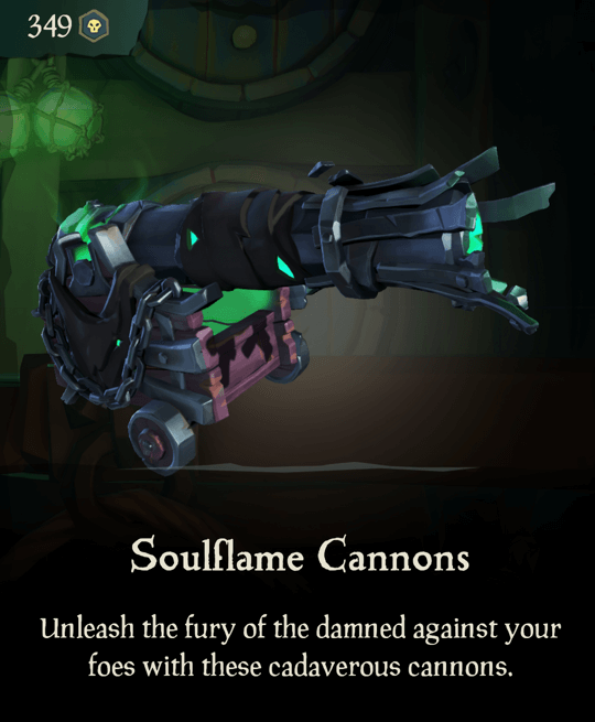 Soulflame Cannons