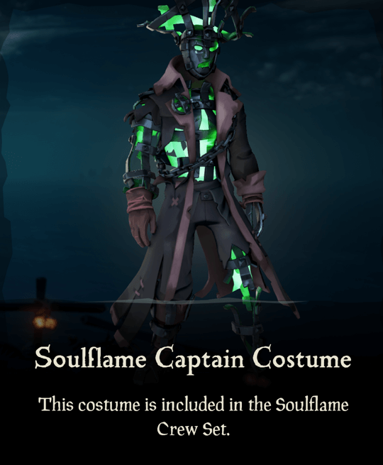 Soulflame Captain Costume