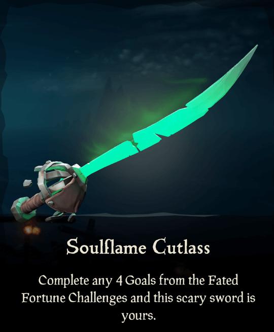 Soulflame Cutlass