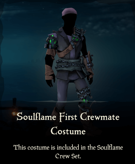 Soulflame First Crewmate Costume