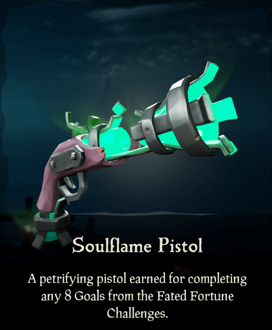 Soulflame Pistol
