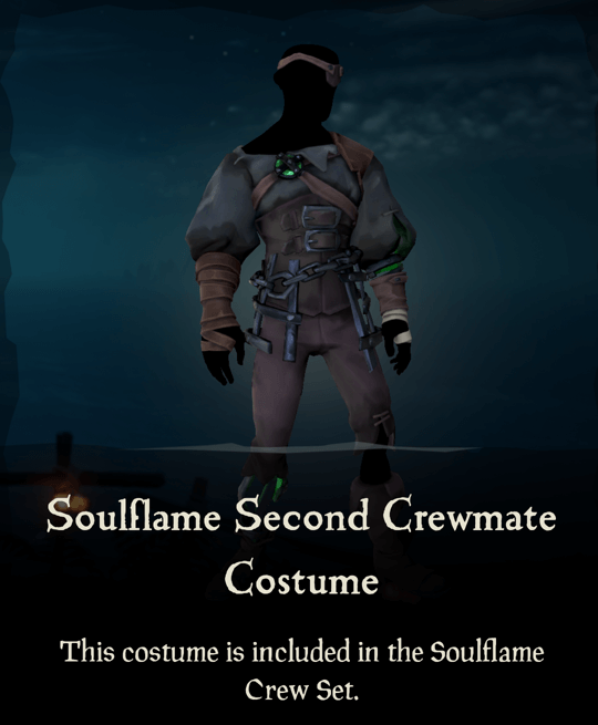 Soulflame Second Crewmate Costume