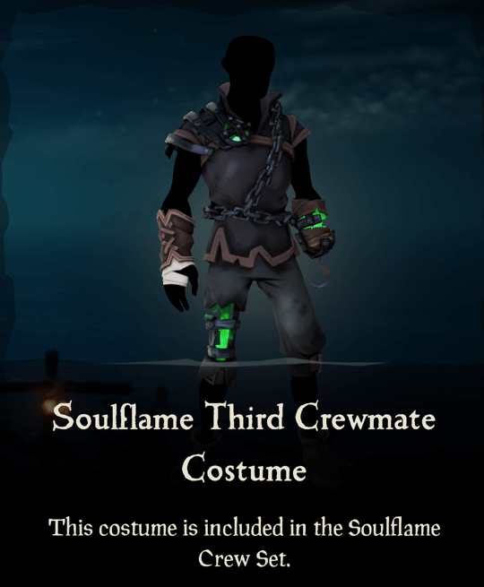 Soulflame Third Crewmate Costume