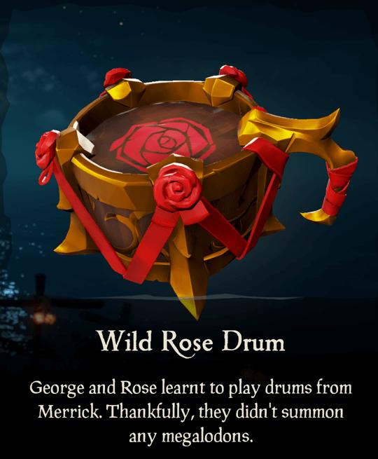 Wild Rose Drum