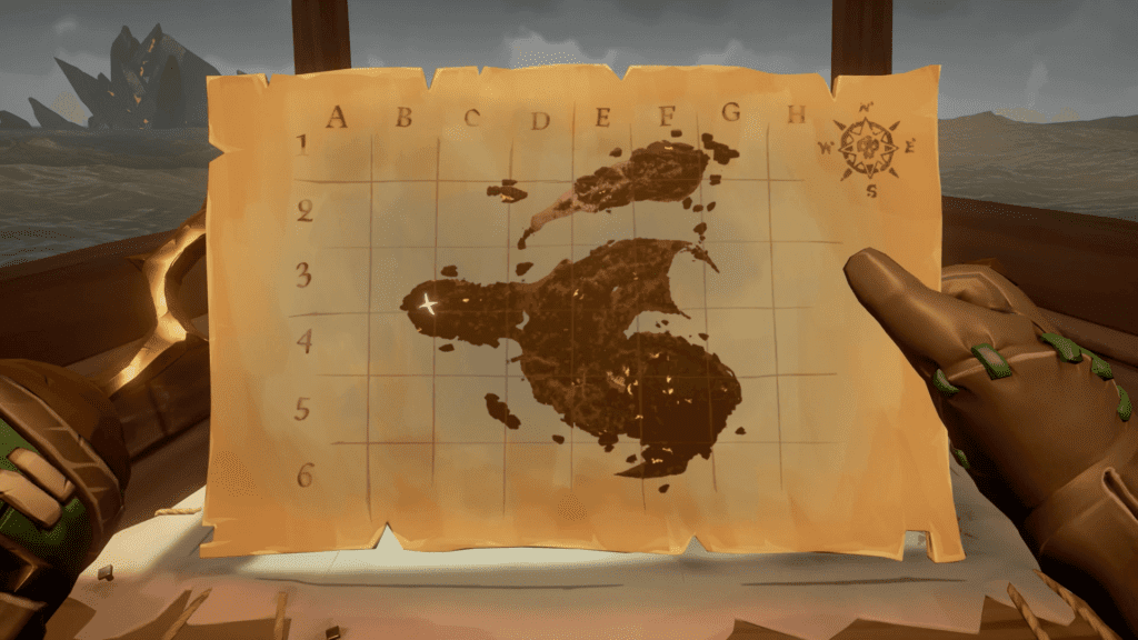 Ritual Location Map