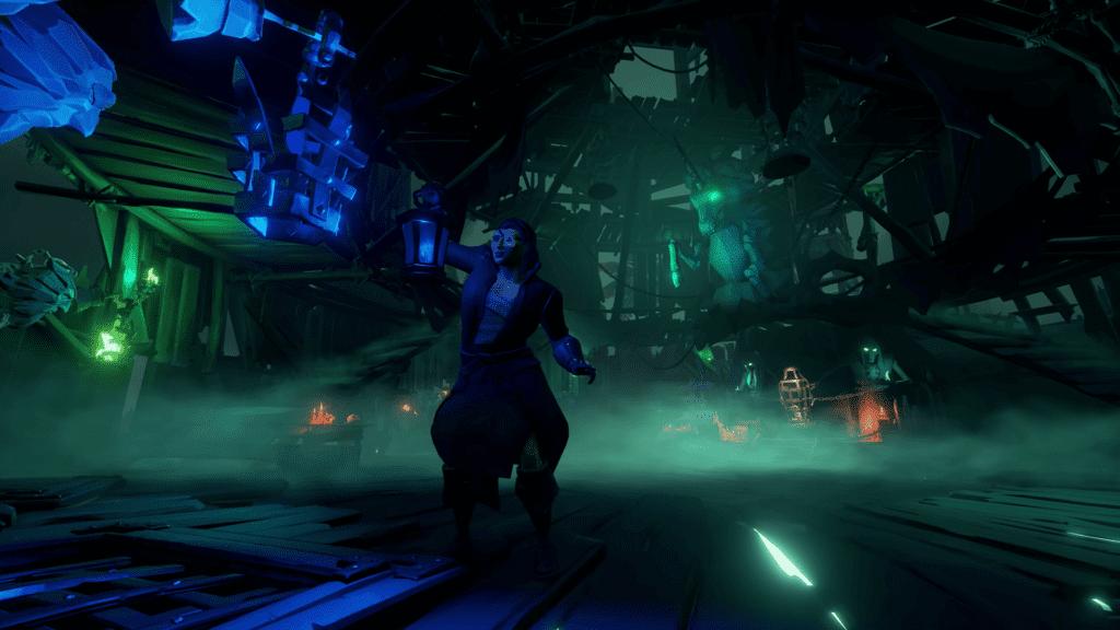 Fort of the Damned Lighting Lantern