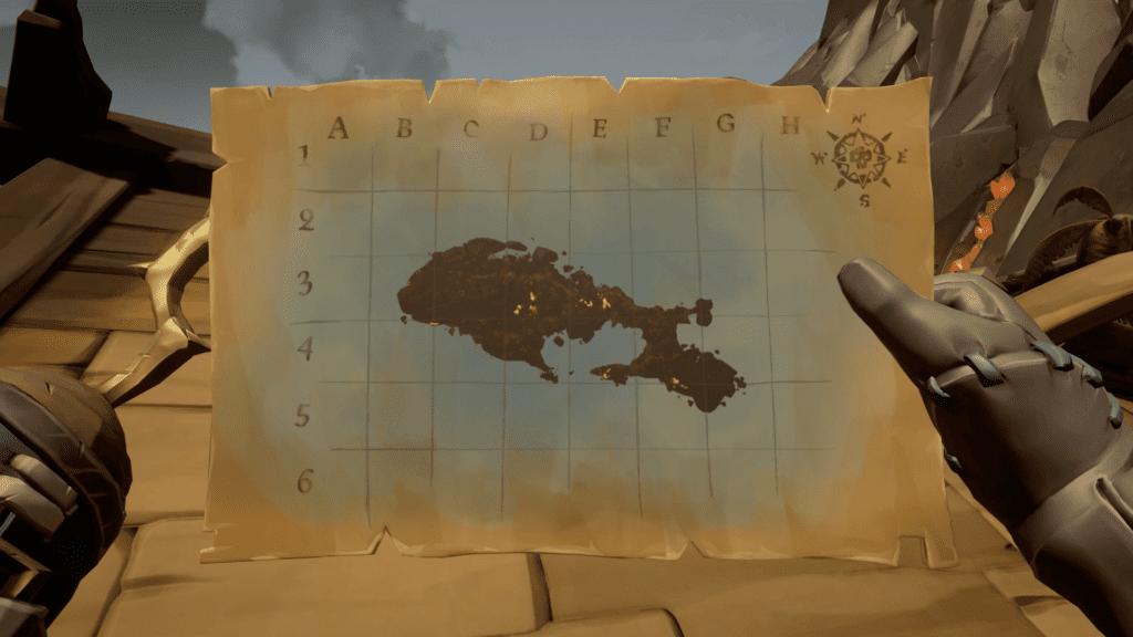 First Bilge Rat Crew Map