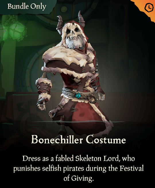 Bonechiller Costume