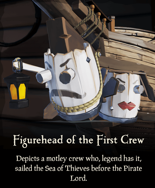 Figurehead of the First Crew