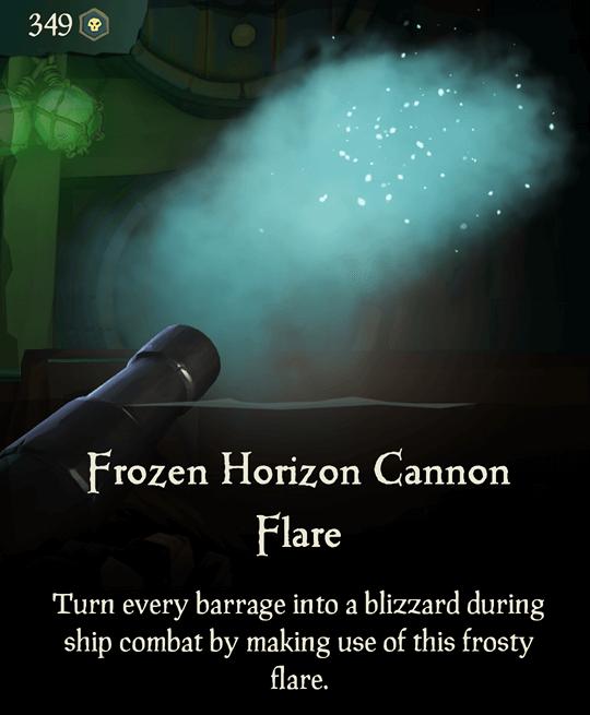 Frozen Horizon Cannon Flare